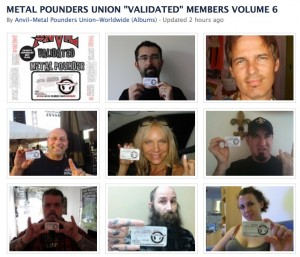 Anvil Metal Pounders Fan Club