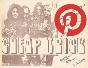 Pinterest Show Flyer Board
