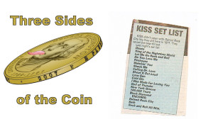 The KISS Setlist, What We Want to Hear, What They Could Change on Three Sides of the Coin