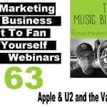 Ep. 163 Apple & U2 and the Value of Music on The Music Biz Weekly