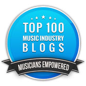 Top 100 Music Industry Blog